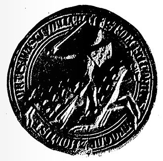 Robert IV, Count of Dreux - Seal of Robert IV of Dreux