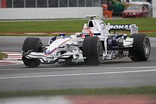 Photo de la BMW Sauber F1.08 de Robert Kubica