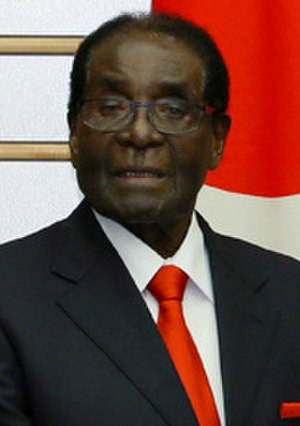 Zimbabwean general election, 2013 - Image: Robert Mugabe 2016