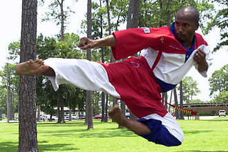 Robert Parham - Parham demonstrates his skills in Mississippi in 2002