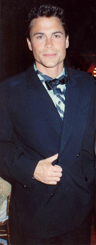 Rob Lowe - Lowe at the Governor's Ball party after the 1989 Academy Awards