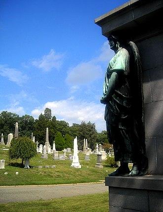 Rock Creek Cemetery - Image: Rock Creek Cemetery, grave marker