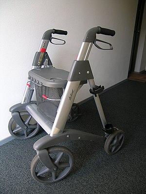 Walker (mobility) - Image: Rollator