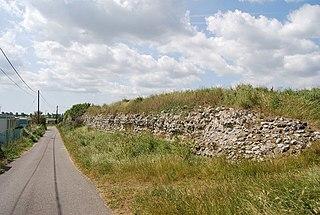 Regulbium human settlement in United Kingdom