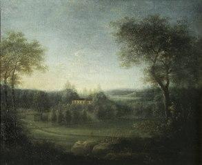 Rosendal från sydost