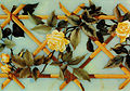 Roses over crossed canes, from Museo dell'Opificio delle Pietre Dure, Florence.jpg