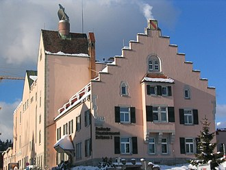 Rothaus - Administrative building of the Rothaus brewery