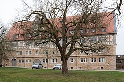 Rothenburg ob der Tauber, Spitalhof 5, Ansicht von Norden-20151230-003.jpg