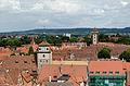 Rothenburg ob der Tauber, Stadtmauer, Kummereck, Weißer Turm, Würzburger Tor, 08-2014-002.jpg