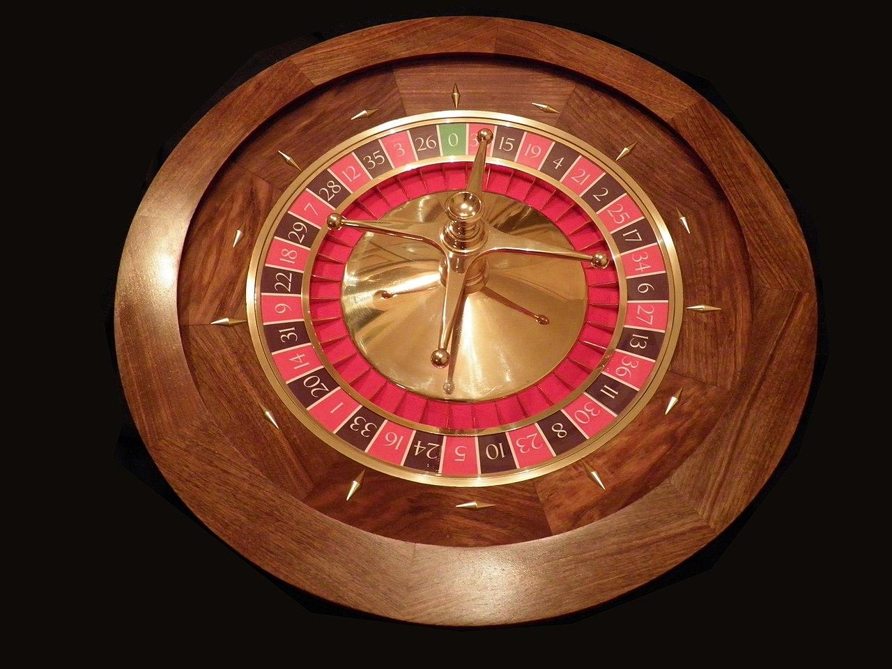 Roulette 4 Hrg 4: Fichier:Roulette Casino.JPG