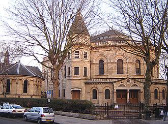 Lower Clapton - Image: Round chapel clapton 1