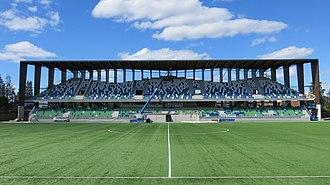 Rovaniemen Palloseura - Keskuskenttä, home ground of RoPS