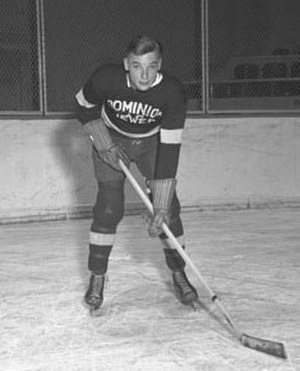 Roy Conacher - Conacher as a member of the Toronto Dominions in 1936–37