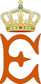 Royal Monogram of Queen Emma of the Netherlands.svg