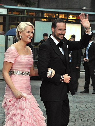 Mette-Marit, Crown Princess of Norway - Image: Royal Wedding Stockholm 2010 Konserthuset 389