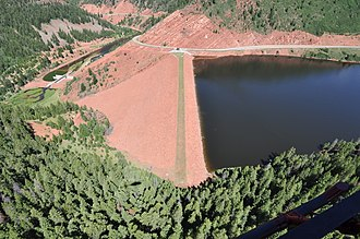 Ruedi Reservoir - Image: Ruedi Dam
