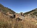 Ruinas en pendiente en Incallajta.jpg