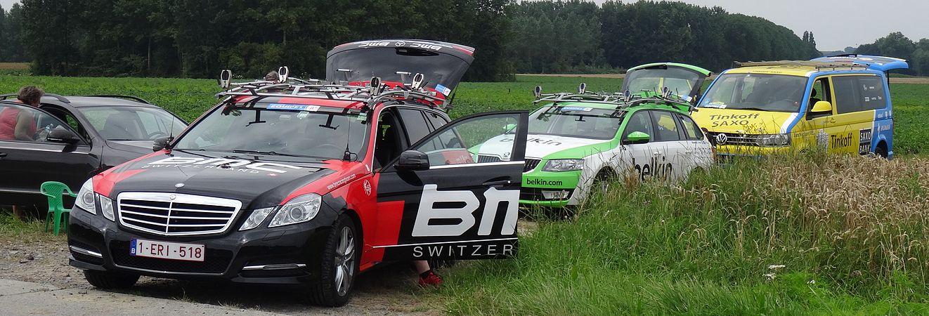 Rumillies (Tournai) - Tour de Wallonie, étape 1, 26 juillet 2014, ravitaillement (A05).JPG