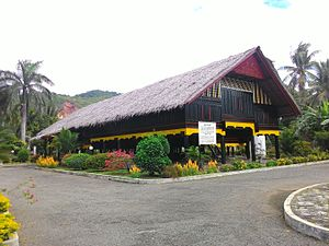 Rumoh Aceh - The House of Cut Nyak Dhien, a sample of a traditional house of Aceh, the Rumoh Aceh.