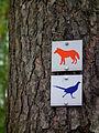 Rundwegkennzeichnung Wildpark Alte Fasanerie Juni 2012.JPG