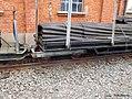 Rungenwagen der Feldbahn im Deutschen Dampflokomotiv-Museum in Neuenmarkt, Oberfranken (14311154141).jpg