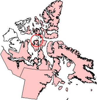 Russell Island (Nunavut) - Image: Russellisland