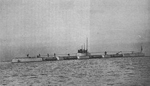 Bars-class submarine (1915) - Image: Russian Submarine Bars 1914