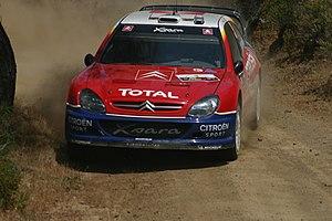 World Rally Car - Image: Sébastien Loeb 2004 Cyprus Rally