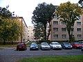 Sídliště Petřiny, vnitroblok Peštukova, Křenova, Na okraji.jpg