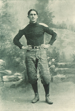 Clyde Williams (American football) - Williams from 1903 Hawkeye