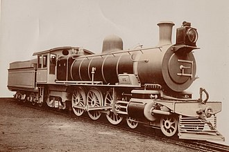 4-6-2 - Cape Government Railways Enlarged Karoo Class, SAR Class 5