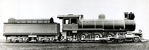 South African Class 9 4-6-2 - CSAR no. 600, SAR no. 727, c. 1904