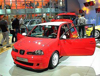 SEAT Arosa - The 'SEAT Arosa Racer' concept car