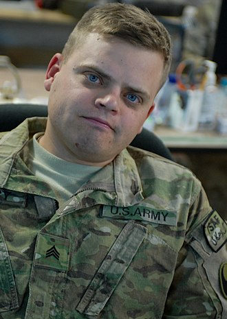 Sergeant - A U.S. Army sergeant from the 29th Infantry Division in 2011.