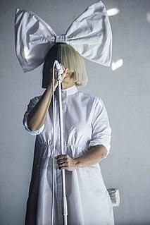 Sia (musician) Australian singer and songwriter