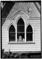SOUTH SIDE, DETAIL OF WINDOWS - Methodist Episcopal Church, 108 San Gregorio Street, Pescadero, San Mateo County, CA HABS CAL,41-PESC,7-8.tif