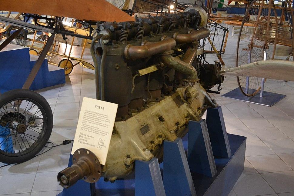 SPA 6A inline engine (2)