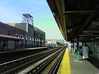 Jerome Avenue - Fordham Road station