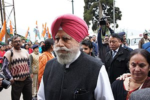 S. S. Ahluwalia - SS Ahluwalia BJP - Filing Nominations for the 2014 Darjeeling Lok Sabha Parliamentary Constituency