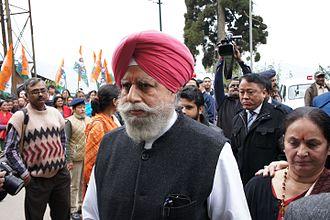 S. S. Ahluwalia - SS Ahluwalia BJP - Filing Nominations for the 2014 Darjeeling Lok Sabha Parliamentary Constituency