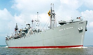 SS John W. Brown is one of only two surviving operational Liberty ships.