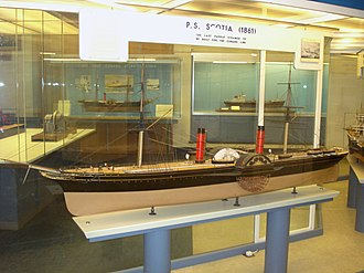 RMS Scotia - Image: SS Scotta 1861 model
