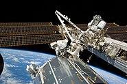 STS-129 EVA2 Michael Foreman & Randolph Bresnik 1