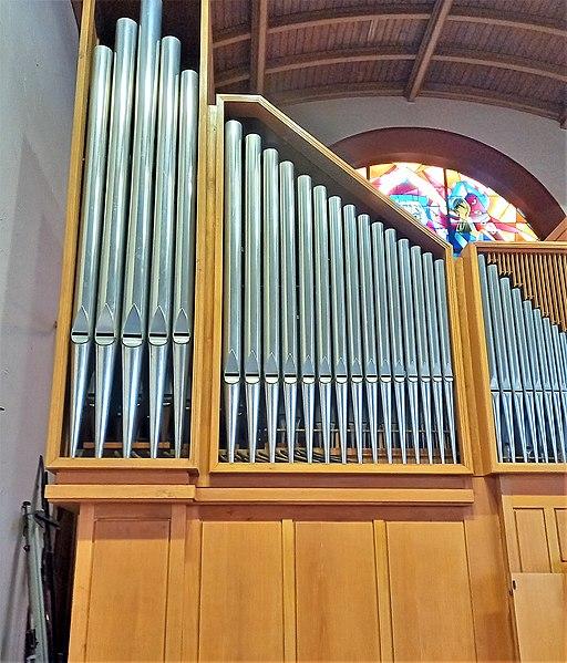 Datei:Saarbrücken-Burbach, Matthäuskirche (Ott-Orgel, Prospekt) (18).jpg