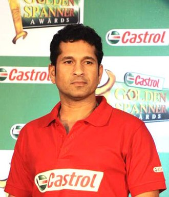 Border–Gavaskar Trophy - Sachin Tendulkar, top-scorer in the series.