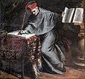 Sacristy of San Francesco della Vigna (Venice) - San Bonaventura nello studio di Palma il Giovane.jpg