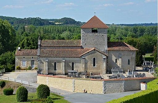 12de Eeuwse Romaanse kerk Sainte-Eulalie