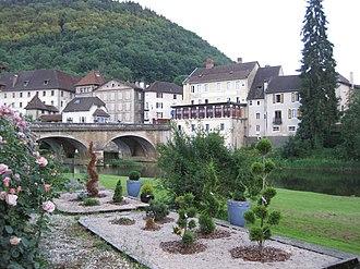 Saint-Hippolyte, Doubs - Image: Saint Hippolyte (Doubs) 0010