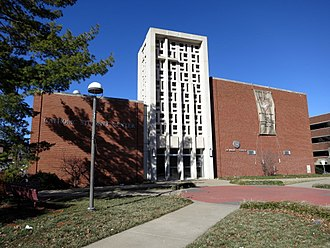 Newman Centers - The Newman Center near the University of Missouri campus