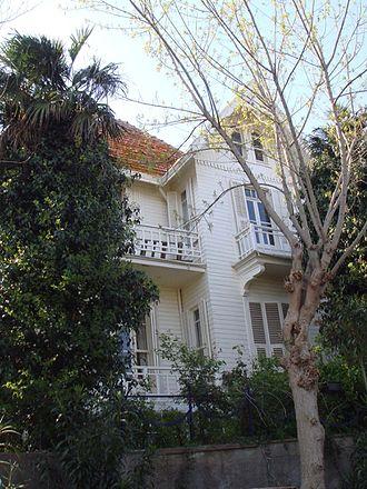 Sait Faik Abasıyanık - His home in Burgazada, now the Sait Faik Museum